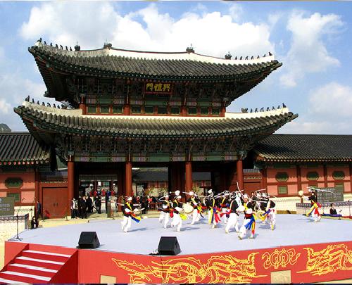 Cung điện cổ kính của Hàn Quốc