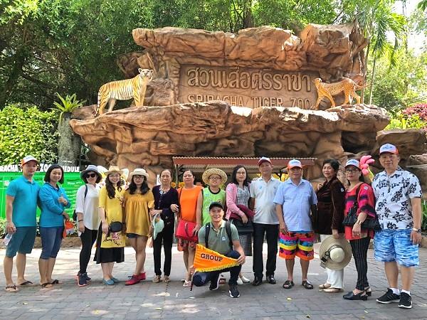 Hình ảnh khách đi tour Thái Lan của BestPrice