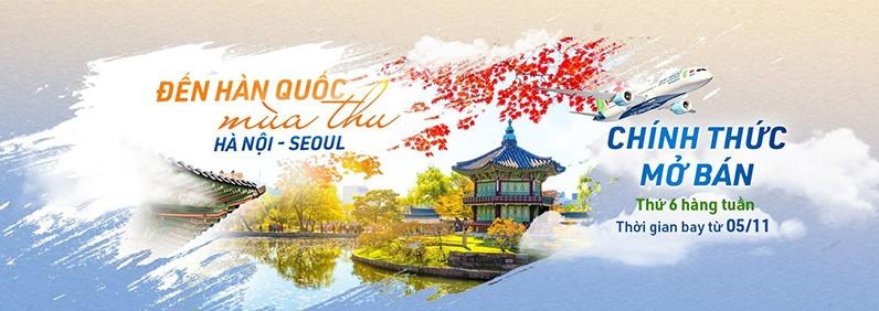 [Bamboo Airways] Chính thức mở bán vé máy bay Hà Nội - Seoul