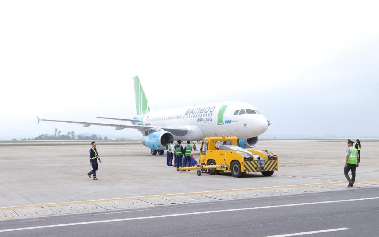Máy bay của hãng hàng không Bamboo Airways