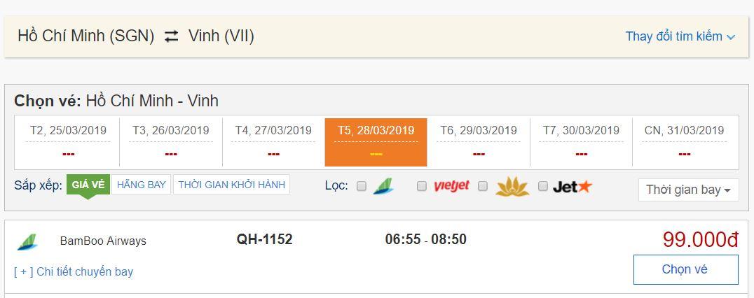 Đặt vé máy bay Bamboo Airways giá rẻ tại BestPrice