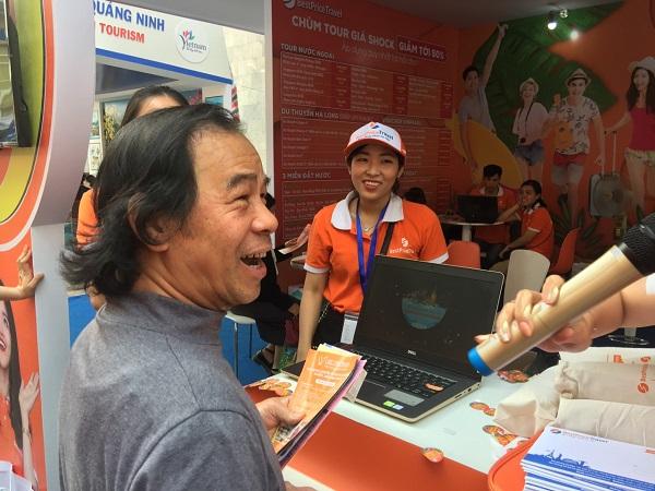 Chú Tú rất bất ngờ khi trúng tour du lịch Thái Lan 0 đồng của BestPrice
