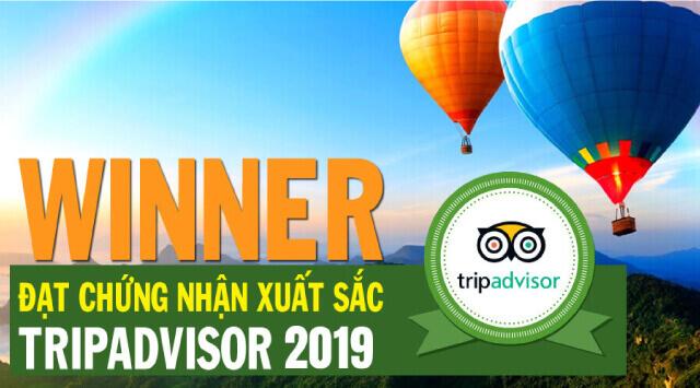 BestPrice đạt chứng nhận Certificate of Excellence từ Tripadvisor