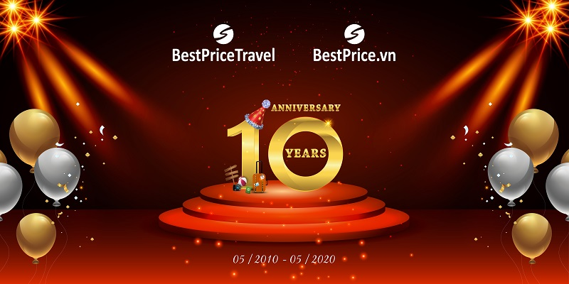 Kỷ niệm 10 năm thành lập BestPrice