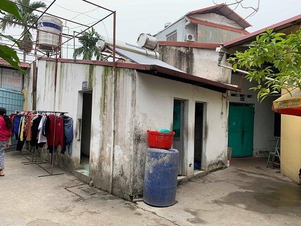 Cơ sở vật chất tại trung tâm dạy nghề từ thiện Quỳnh Hoa
