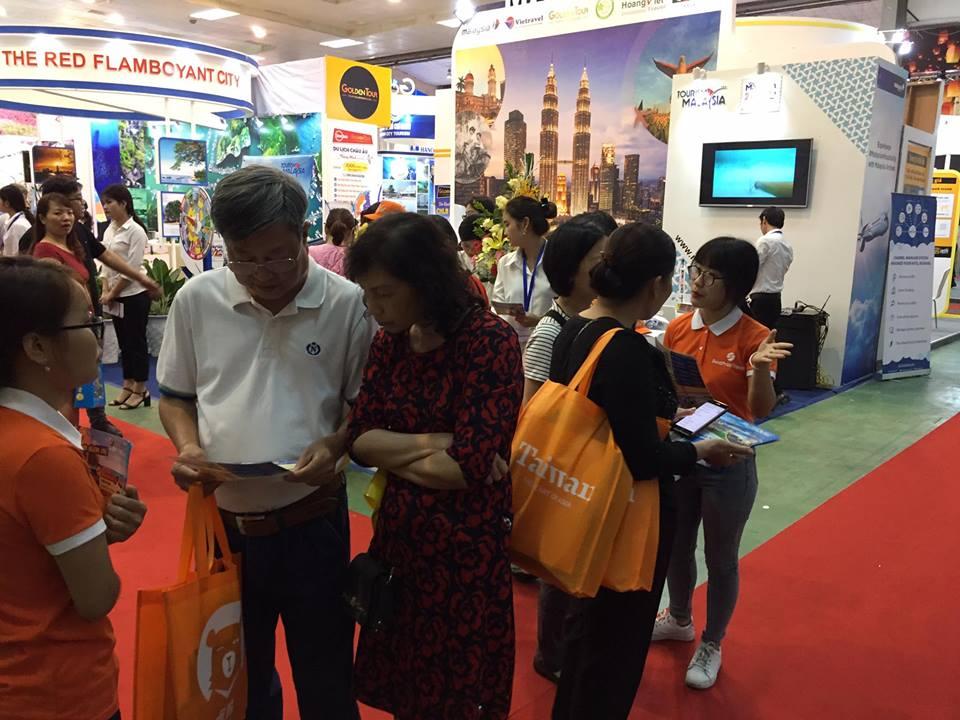 Gian hàng BestPrice tại Hội chợ du lịch Quốc tế VITM 2018