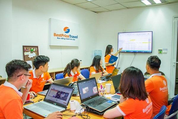 Đội ngũ nhân viên Công ty Du lịch BestPrice Travel
