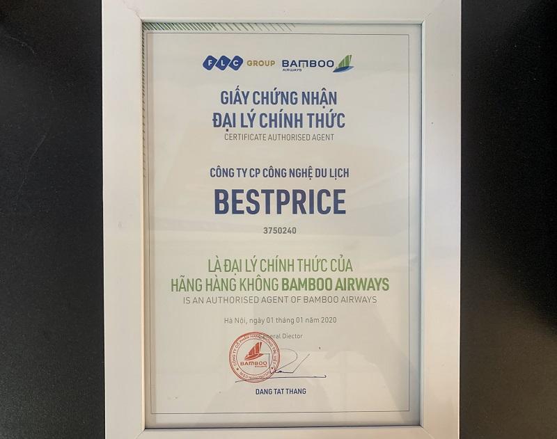 BestPrice tự hào là đại lý cấp 1 của Bamboo Airways