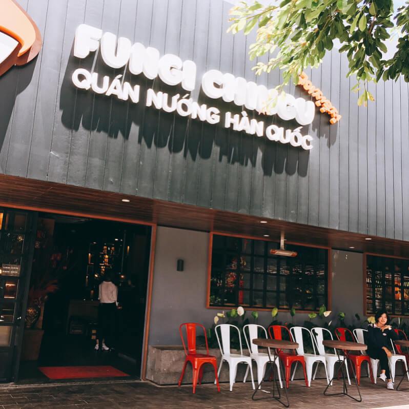 Fungi Chingu là một quán nướng ngon ở Đà Lạt mang phong cách Hàn Quốc
