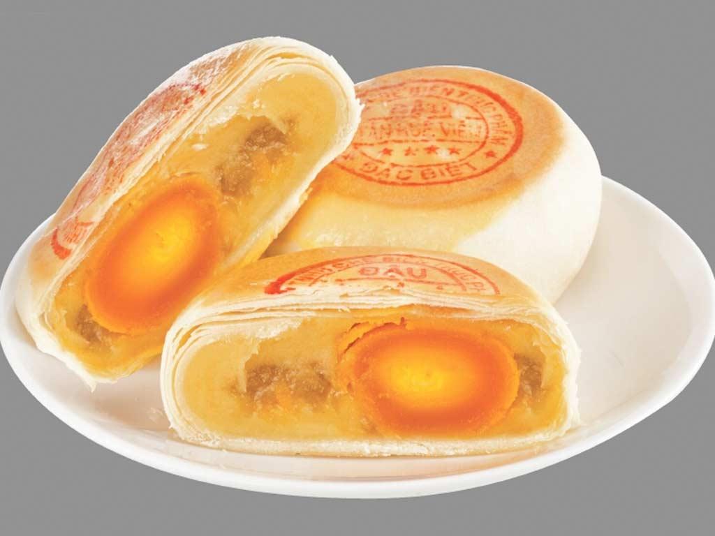 Bánh pía sầu riêng Tân Huê Viên - Sài Gòn