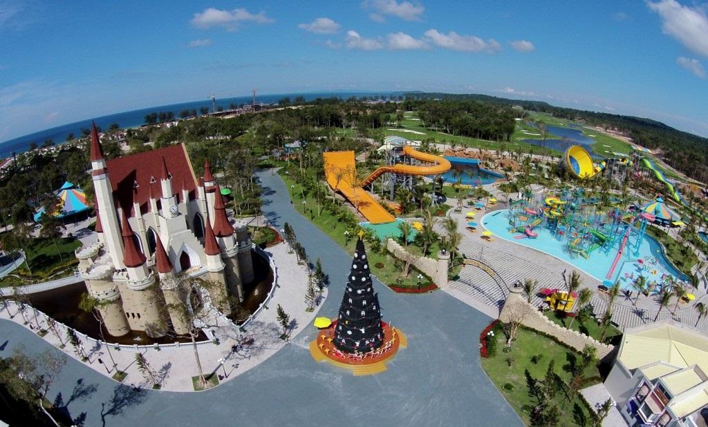 Toàn cảnh khu vui chơi Vinpearl Land Phú Quốc