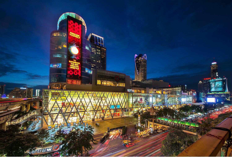 Trung tâm thương mại tại Thái Lan