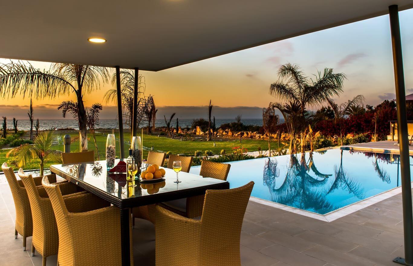 Khung cảnh thơ mộng nhìn từ Aurora Villas & Resort Quy Nhơn
