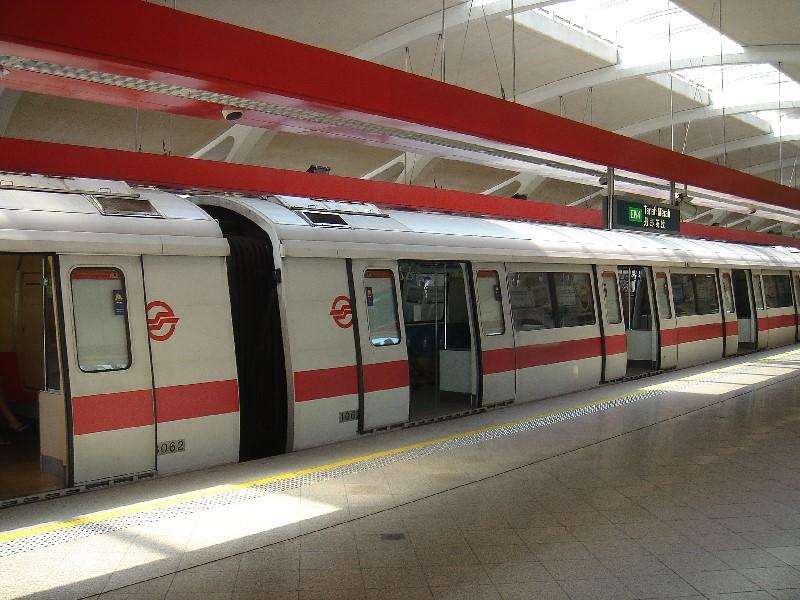 MRT là phương tiện di chuyển phổ biến nhất  ở Singapore