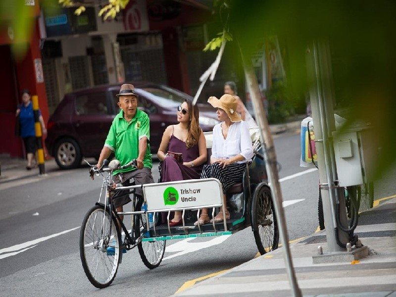 Trishaw ba bánh chở được 2 người