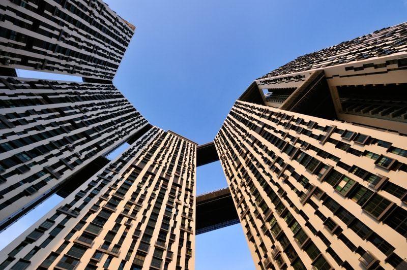 Tòa nhà Pinnacle@Duxton với kiến trúc độc đáo