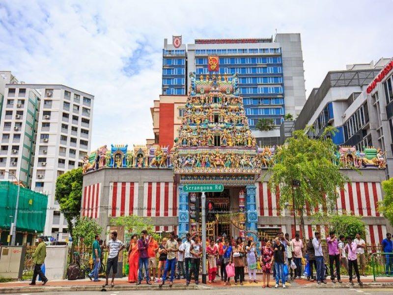 Đền Sri Veeramakaliamman hay còn gọi là Sri Srinivasa Perumal Temple