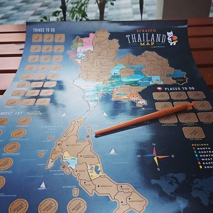 Bản đồ du lịch Thái Lan