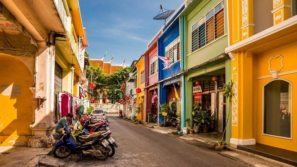 Phố cổ tại Phuket