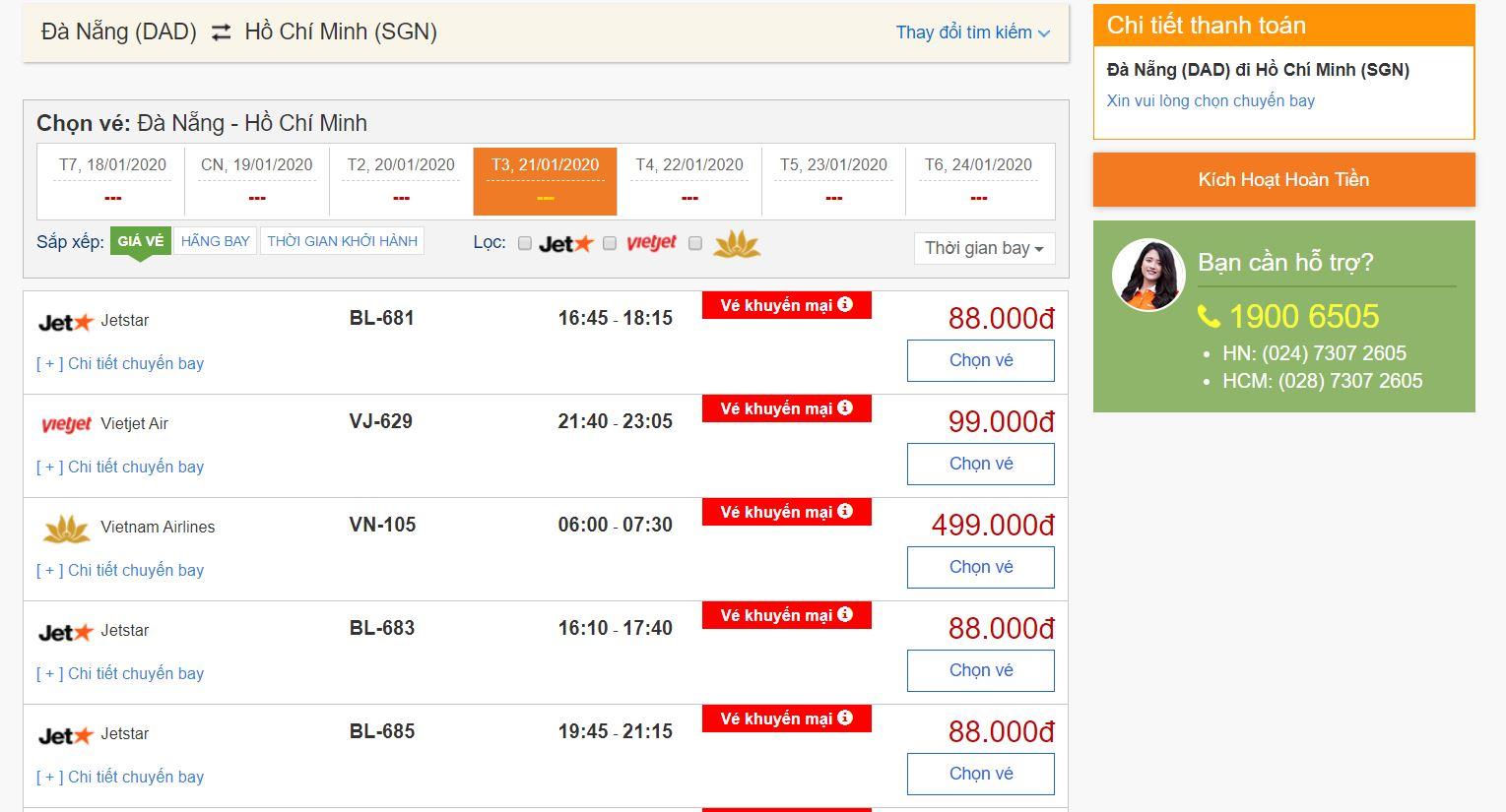 Vé máy bay giá rẻ Tết 2020 được cập nhật liên tục tại bestprice.vn