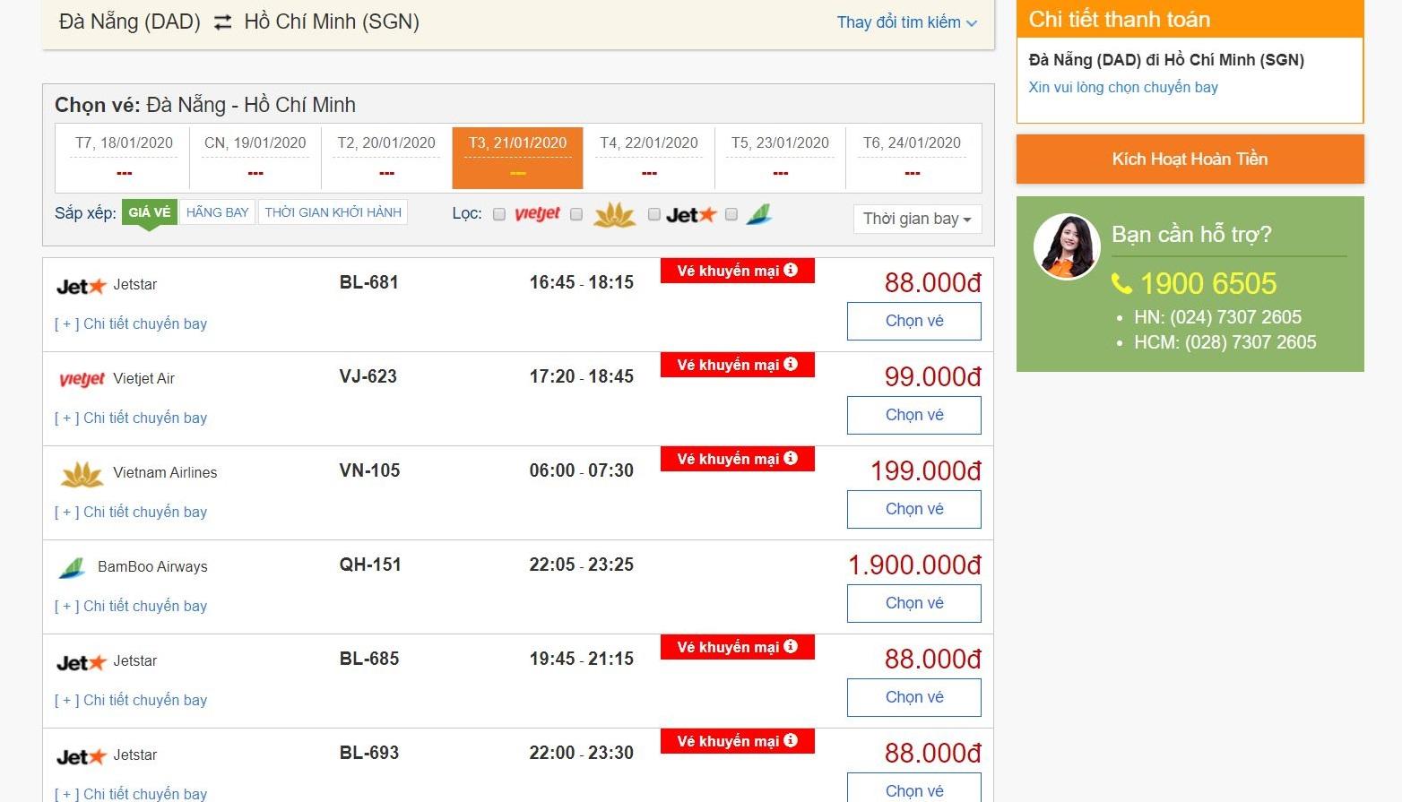 Đặt vé máy bay Tết giá rẻ tại bestprice.vn