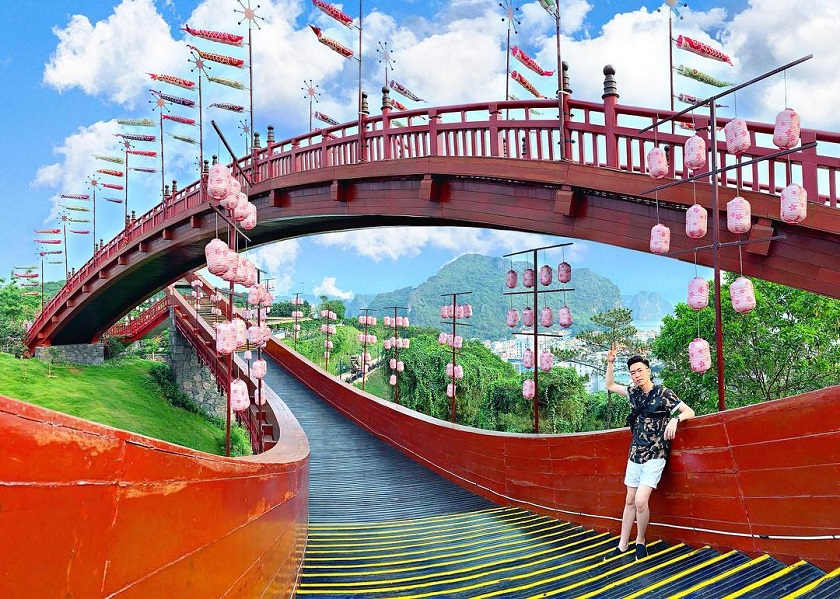 Check-in tại Sun World Hạ Long Park