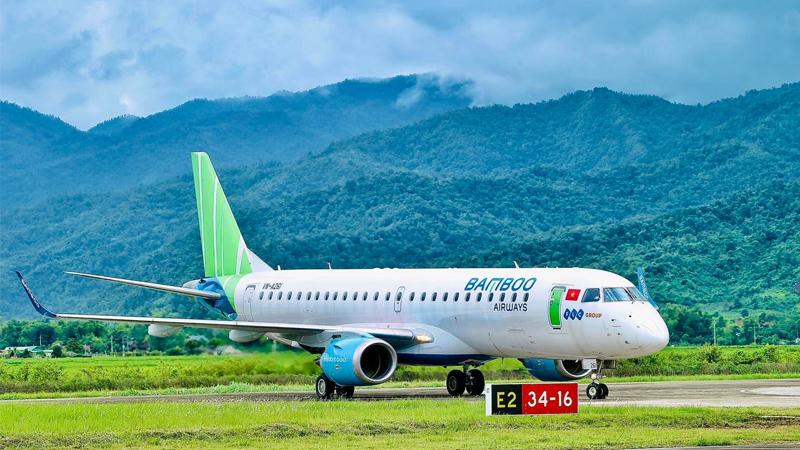 Bamboo Airways khai thác thử nghiệm thành công chuyến bay Hà Nội - Điện Biên vào ngày 19/08/2021