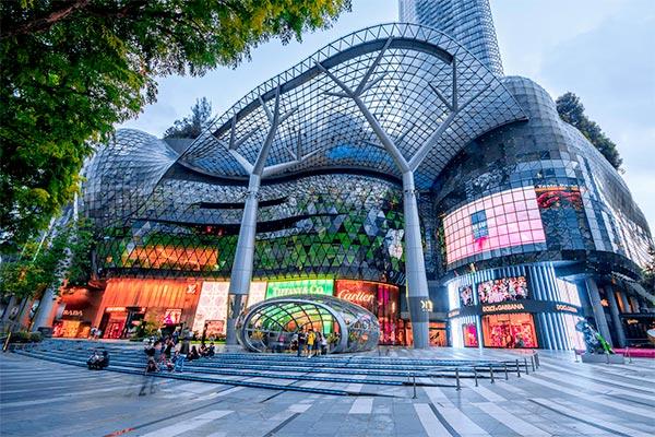 Đại lộ Orchard - trung tâm mua sắm nổi tiếng tại Singapore