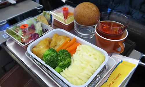Suất ăn trên máy bay của Vietnam Airlines