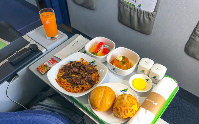 Suất ăn trên máy bay của Bamboo Airways