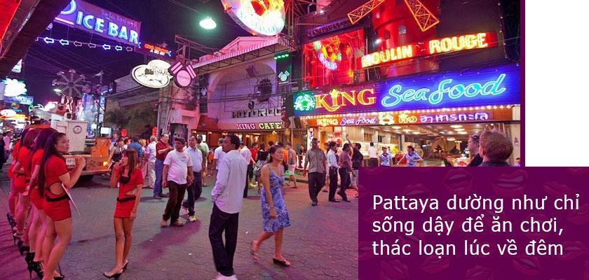 Pattaya sôi động về đêm