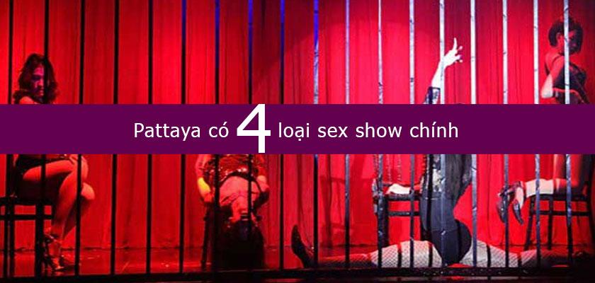 Những loại sexy show ở Pattaya