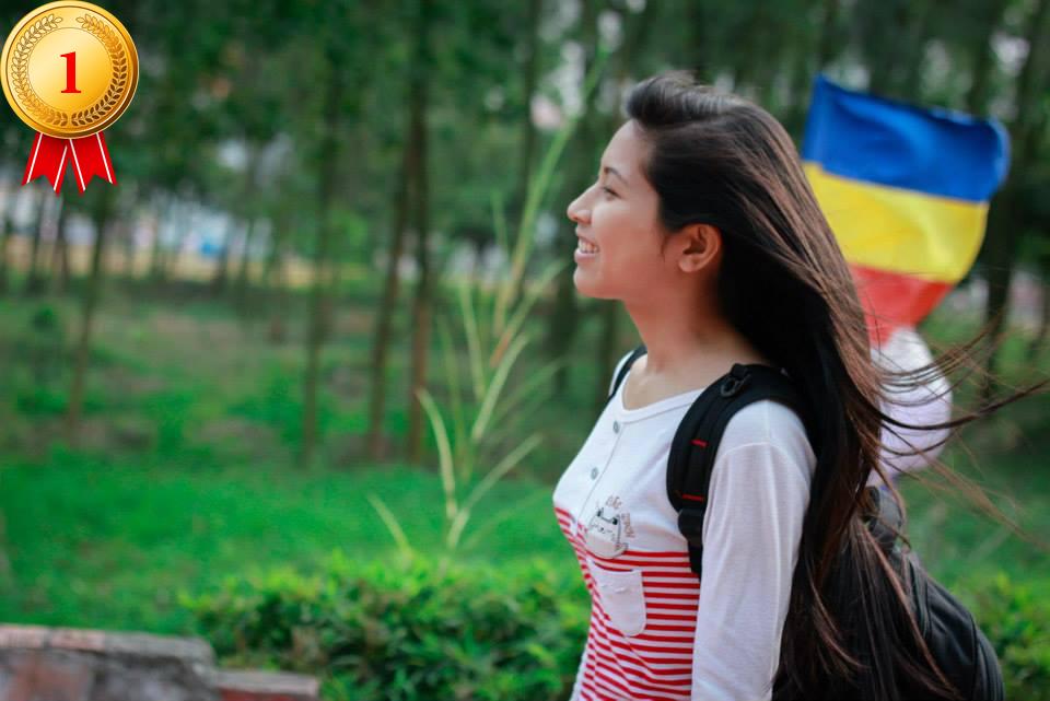 Giải nhất đã thuộc về bạn Nguyễn Thị Vân Anh