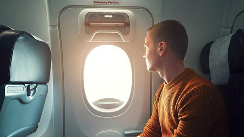 Hành khách phải có sức khỏe tốt mới có thể ngồi gần cửa thoát hiểm