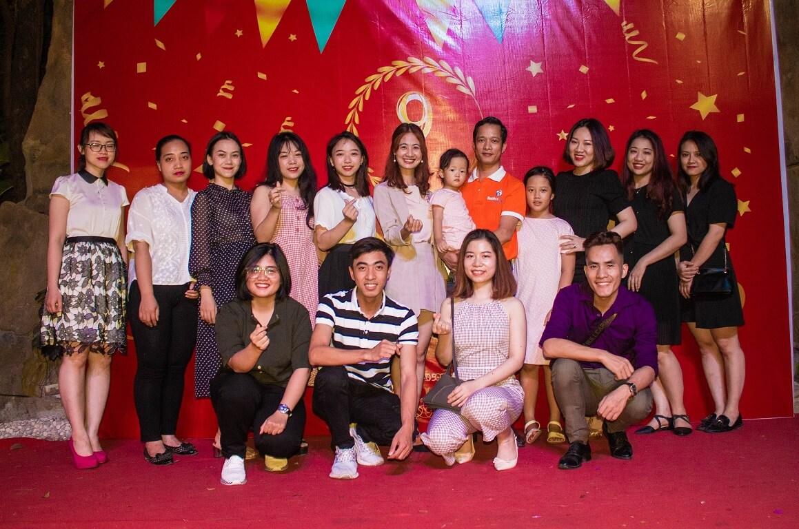 Hình ảnh bộ phận khách sạn chi nhánh Hà Nội trong bữa tiệc