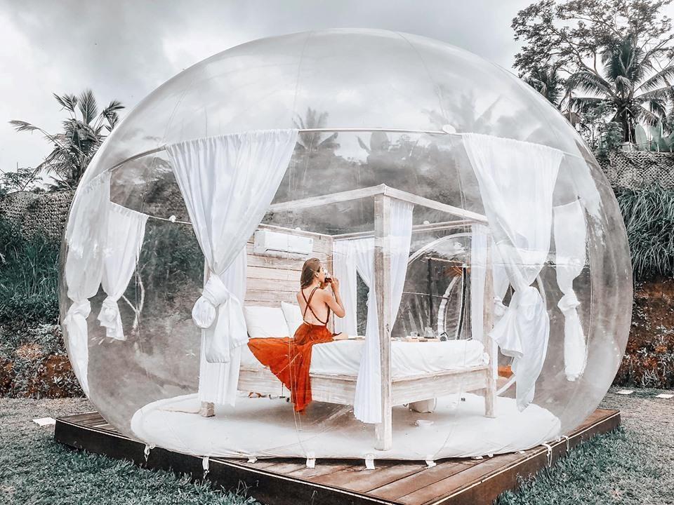 Khách sạn bong bóng sành điệu tại Bali