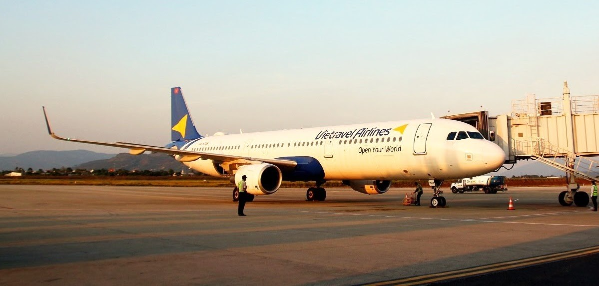 Máy bay Airbus A320CEO của Vietravel Airlines