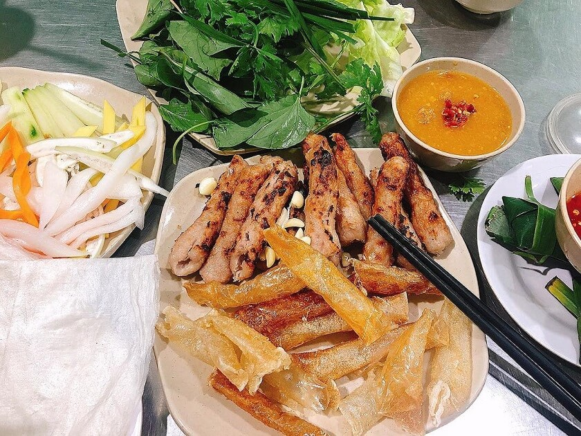 Nem nướng và nem chua Ninh Hòa - Nha Trang