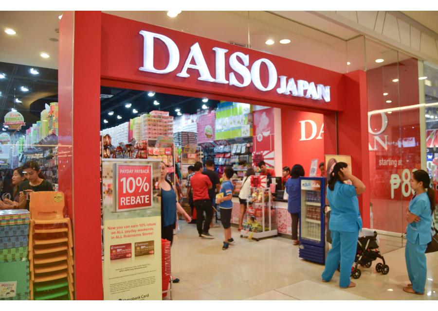 Siêu thị Daiso Nhật Bản