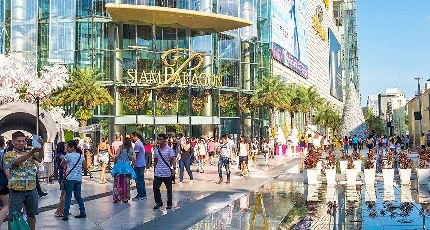 Trung tâm thương mại Siam Paragon hiện đại