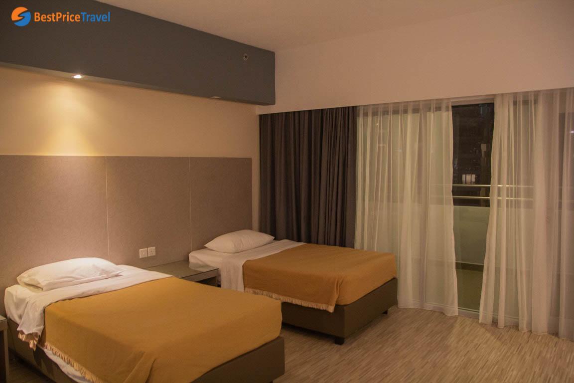 Hình ảnh phòng khách sạn RELC International Hotel mình ở