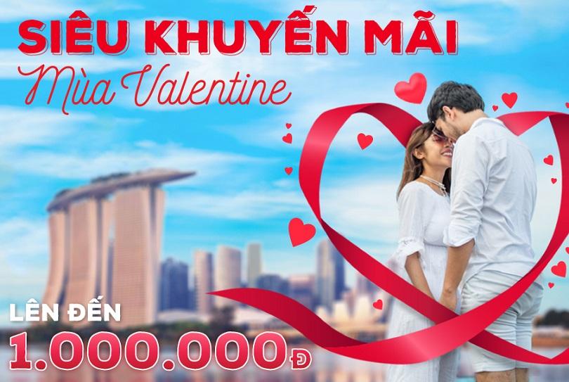 siêu khuyến mãi ngày Valentine