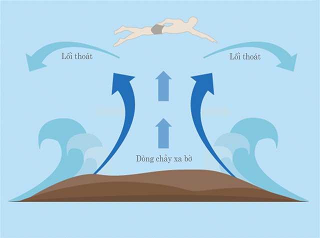 Cách thoát khỏi dòng chảy xa bờ