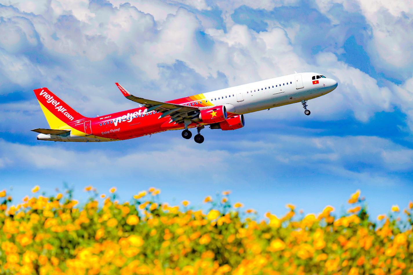 Vietjet Air tung 10 triệu vé máy bay đồng giá 85.000 vnđ bay khắp Việt Nam