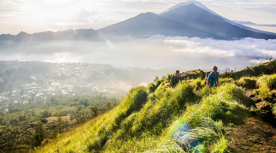 Hoạt động leo núi ở Bali