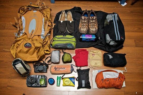 Chuẩn bị đầy đủ đồ dùng cá nhân cho chuyến du lịch Côn Đảo