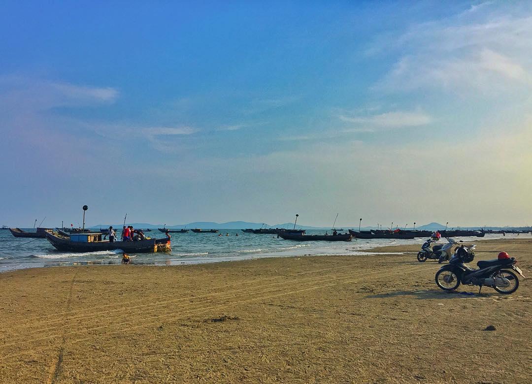 Một góc biển Trà Cổ