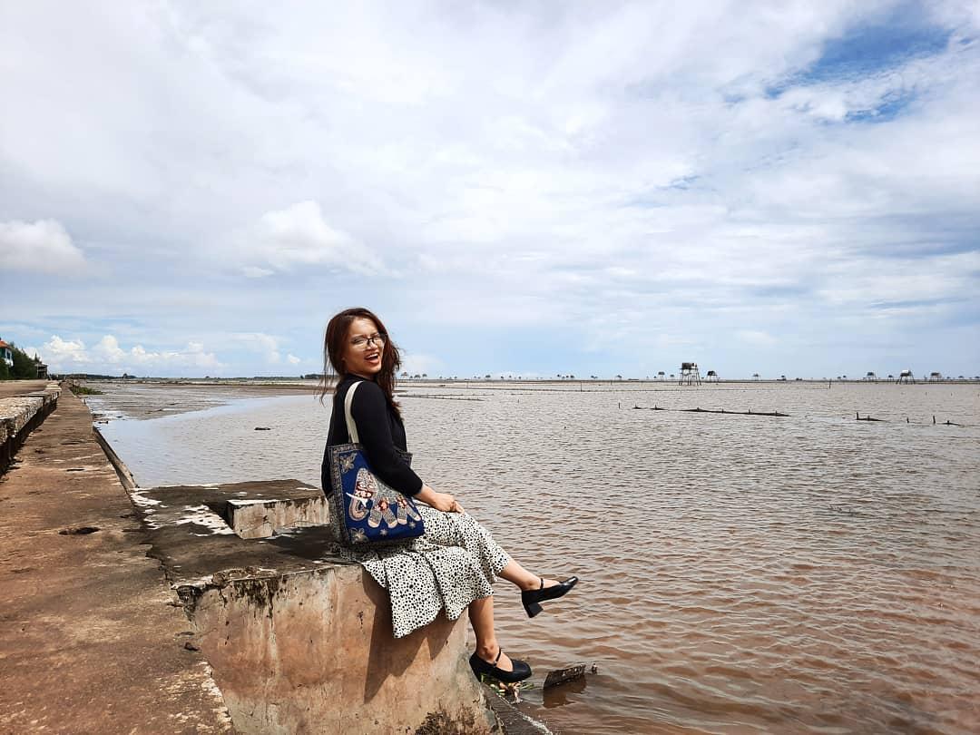 Biển Đồng Châu là nơi du lịch biển gần Hà Nội rất được yêu thích