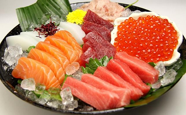 Sashimi - Hải sản tươi sống
