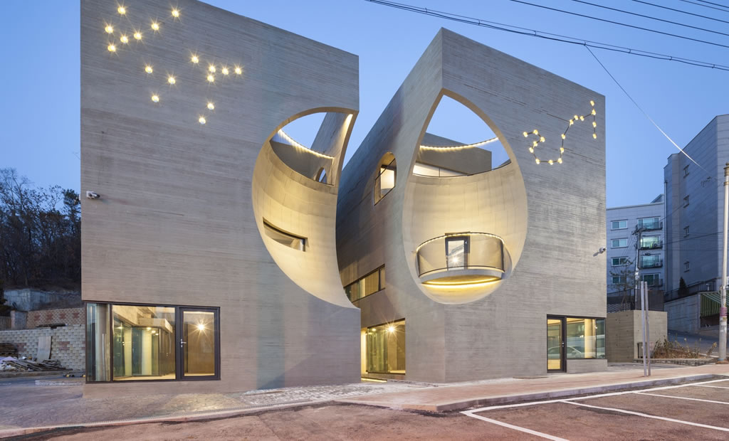 Tòa nhà Two Moon
